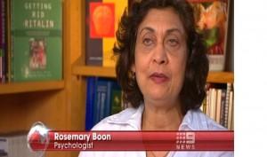 Rosemary Boon talking about neurofeedback ADHD
